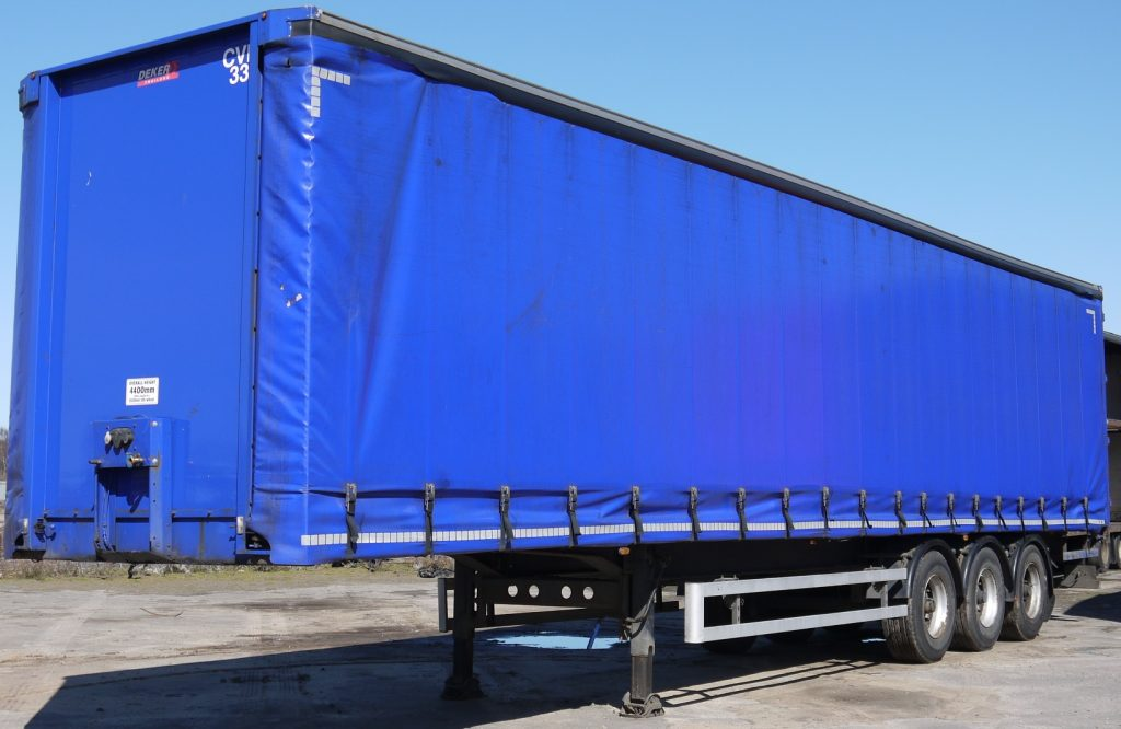 STEP FRAME CURTAIN SIDE TRAILER FOR SALE Trailer Archives Deker Trailers